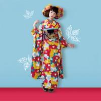 タカハシマイちゃんが着る現代アレンジ着物スタイル♪