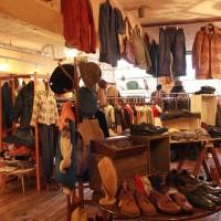ナチュラル空間で一息ついた洋服探し♪京都の古着屋Reveille