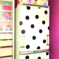 冷蔵庫をオシャレにしたい!その願い、カッティングシートで簡単に叶います♪