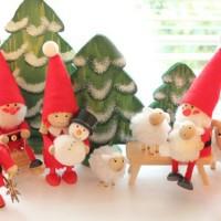 北欧の妖精「ノルディカニッセ」でかわいいクリスマスデコレートを☆