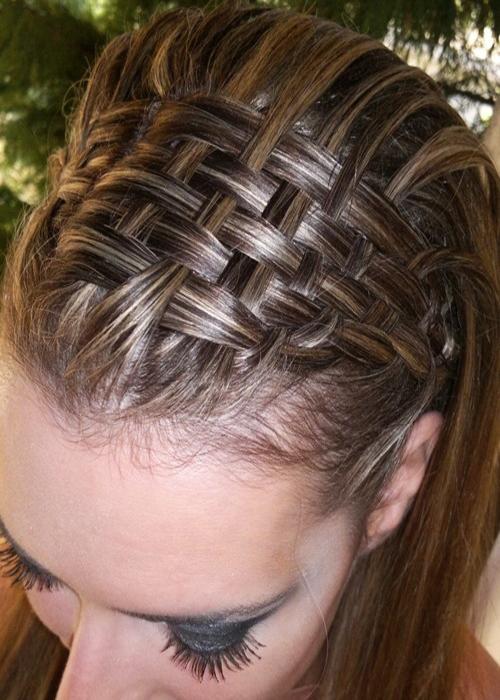 Delicate-Braid-Hair-Styling-Idea-for-Silky-Straight-Hair
