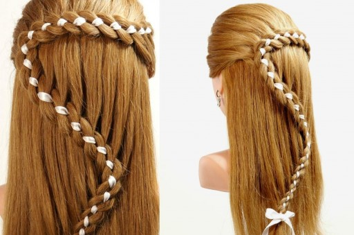 how-to-do-beautiful-4-strand-braid-hair-with-ribbon-diy-tutorial-step-by-step-instructions-512x339