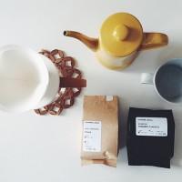 【月兎印 / つきうさぎじるし】のスリムポットで美味しいドリップコーヒーを♪