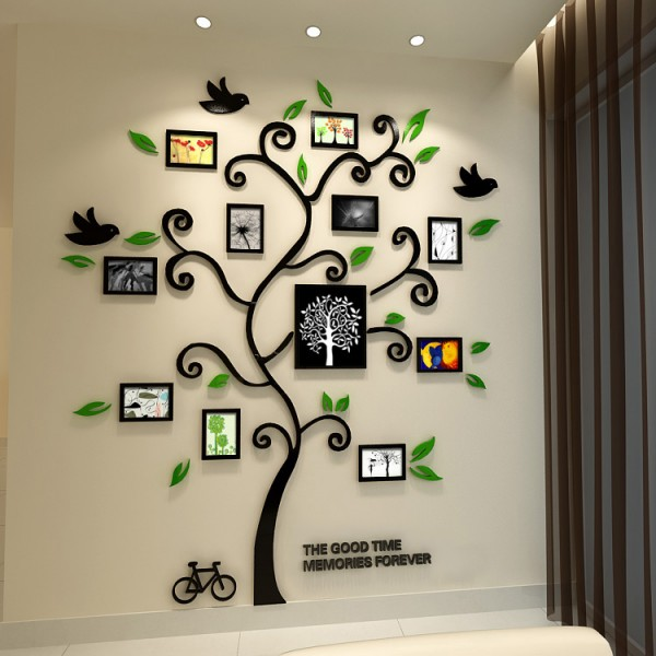出典:http://www.sulasa.com/fantastic-picture-frame-wall-decals-inspiration/fashionable-wall-photo-frames-wall-decal-ideas-to-decorate-elegant-home-interior-design/