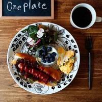 北欧食器ARABIAの【ブラックパラティッシ】でワンプレートとテーブルコーディネートまとめ♡