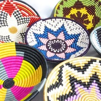 アフリカの太陽と大地から生まれた平和のカゴ。【ルワンダバスケット】のデザインに一目ぼれ♡