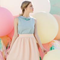 そろそろ春のファッションに♡ポップカラーの小物を使った大人女性コーディネート
