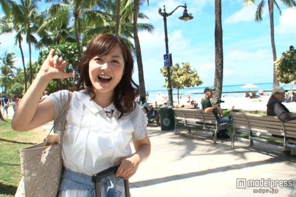 水卜ちゃんの笑顔きわ立つヘルシーヘアアレンジ!