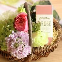 もうすぐ母の日☆お花とセットで花屋さんがつくったフレグランスをプレゼントはいかがですか?