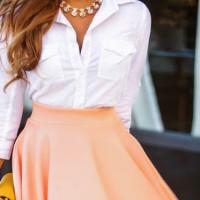 春だから着たい!女度アップのカラフルなスカート特集♡