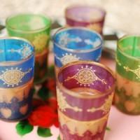 美しくテーブルを彩る♪カラフルなモロッコグラスに夢中☆