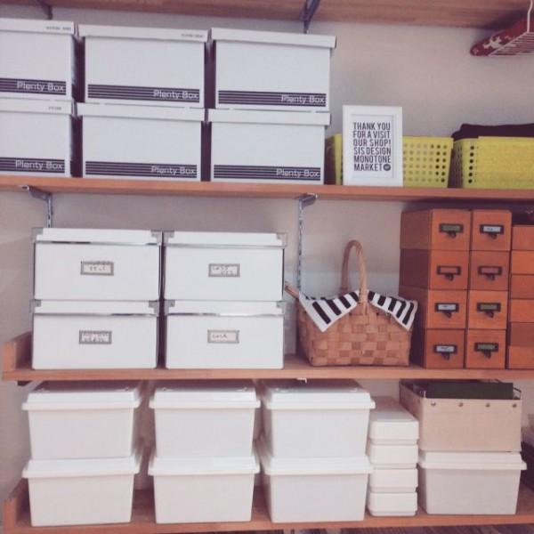 97e34b1e90 100均セリア収納箱「Plenty Box」を使うとこんなにカッコよく収納でき ...