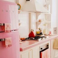 インテリアを自由にする冷蔵庫♪イタリアの高級家電【SMEG / スメグ】のあるキッチン