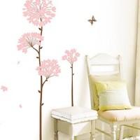 壁を飾るインテリア☆ウォールステッカーでお手軽に雰囲気チェンジ!
