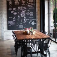 絶対かっこいい!!黒板インテリアでカフェのようなお洒落でカッコいい空間作り♡
