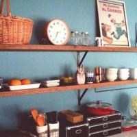 魅せる収納術はオシャレに隠すことがポイント♡真似したいキッチンインテリア