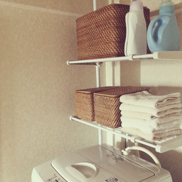 キッチン ikea キッチン 収納 ブログ : おしゃれで便利なランドリー ...