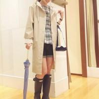 雨の日が待ち遠しい!!着るだけで気分が晴れるキュートなレインコート特集