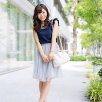 この夏はチュールスカートに注目☆大人可愛い着こなし10選