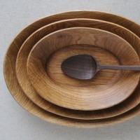 木工作家・加藤良行さんの木製オーバル皿で食事をより楽しく豊かに☆