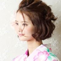 夏祭りシーズンにピッタリ☆今年大人気【ボブスタイル】の浴衣に合うヘアアレンジ!