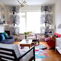 爽やかな心地よさ。IKEAのカーテンで素敵にコーディネートしているお部屋のご紹介♡