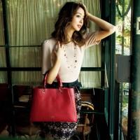 少し大人のカラー&デザインに挑戦♡トートバッグはこれがおすすめ!