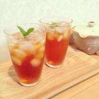 暑い夏を爽快に過ごす♪おうちで簡単【アイスミントティー】の作り方レシピ