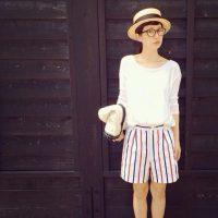 夏の定番マリンスタイルをお洒落に私らしく着こなすコーデ特集!!
