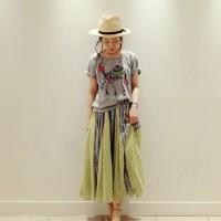 大人女子がはまるお洒落キュートな【イラストTシャツ】着こなしコーデ特集!!