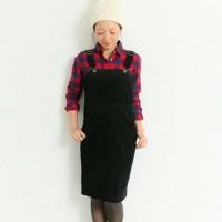 シックに、カジュアルに☆ジャンパースカートで作る大人コーディネート♡