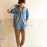 秋の爽やかコーデにはシャツが必須!オシャレに決まるシャツコーデ