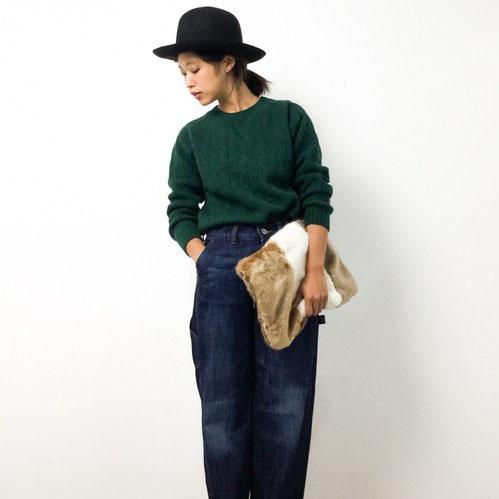秋冬にぴったりの柔らか素材のバッグでコーディネートを暖かく♡