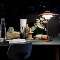 待望の復刻!ポール・ヘニングセンの名作テーブルランプ「PH3-2カッパー」の格別な空間コーデ