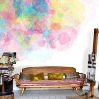 家の壁が水彩画に!?ウォーターカラーウォールで楽しむアンビエントなインテリア