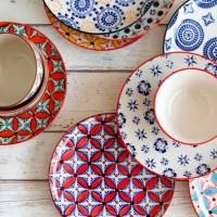 一つ一つハンドプリント。オランダのデザインブランド【Pols Potten / ポルス・ポッテン】の食器が素敵♡