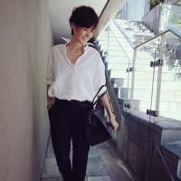 田丸麻紀さんの抜群のファッションコーデに、ココロが踊ります♡