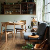 アナタのお家もカフェ風に!おススメ無垢材ダイニングテーブル&コーディネート集☆