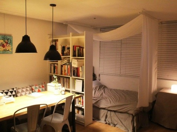 ワンルームレイアウト永遠の課題「リビングと寝室の2部屋に ...