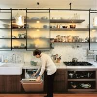 キッチンの吊り戸棚、どんな風に使ってる?収納しやすくお洒落な吊り戸棚にするには?