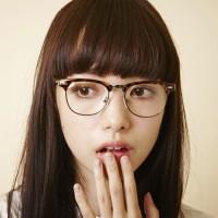 お洒落女子は丸眼鏡でお洒落に差をつける!大人気の丸眼鏡コーデ特集☆