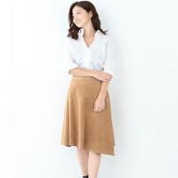しっとりした素材感が大人の雰囲気♡スエード素材のスカートで秋のおしゃれを♪
