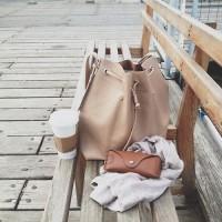 2015秋大注目のバッグはこれ!トレンド感たっぷりな旬のキュートな巾着バッグ特集!!