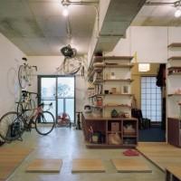 まるでカフェのような空間に。モルタルの床を取り入れたインテリアをご紹介☆