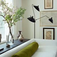シャープな美しさに魅せられる名品。【セルジュ・ムーユ】のランプたちをご紹介