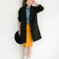 """秋冬のスカートは""""タイトスカート""""で決まり!雰囲気美人になるタイトスカートコーデ特集!"""