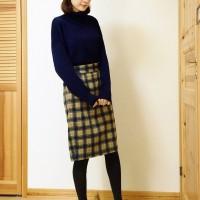 """スタイルがよく見える!?レディライクな""""コクーンスカート""""お洒落コーデ特集!!"""