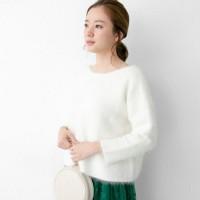 冬のおすすめコーディネート☆柔らかい雰囲気が好きならホワイトニットを狙え!