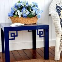 少しの工夫で劇的に変わる!!IKEAのサイドテーブル999円のおしゃれなDIY方法☆