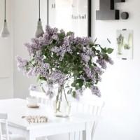 気分が上がる♡キュートな花が飾られたキッチンインテリア集